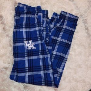 University of Kentucky Plaid Pajama Pants